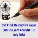 SSC CHSL Descriptive Paper (Tier 2) Exam Analysis - AffairsGuru