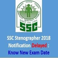 SSC Stenographer 2018 Notification Delayed - AffairsGuru