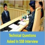Technical Questions Asked In SSB Interview