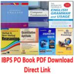 IBPS PO Books PDF Download - AffairsGuru