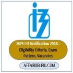IBPS PO Notification 2018 pdf