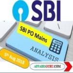 SBI PO Mains Exam Analysis 5th August 2018 Shift 1 - AffairsGuru
