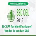SSC RFP for Identification of Vendor To conduct CBE