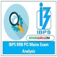 IBPS RRB PO Mains Exam Analysis
