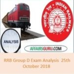 RRB Group D Exam Analysis 25th October 2018