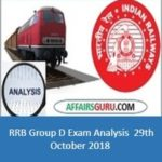 RRB Group D Exam Analysis 29th October 2018