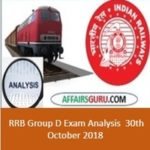 RRB Group D Exam Analysis 30th October 2018