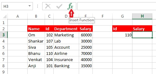 VLOOKUP Formula In Excel with Example PDF - VLOOKUP Tutorial