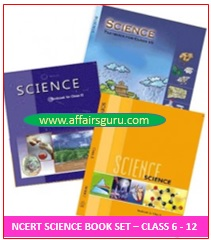 NCERT Science Book Set - Class 6 to 12