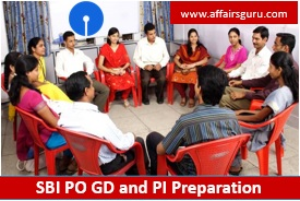 SBI PO GD and PI Preparation
