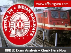 RRB JE Exam Analysis