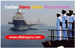 Indian Navy Sailors Recruitment