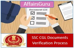 SSC CGL Document Verification List