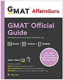 GMAT Official Guide Cover - AffairsGuru