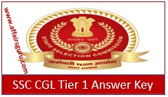 SSC CGL Answer Key Download