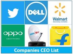 Companies CEO List