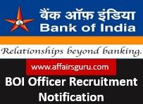 BOI Officer Recruitment Notification