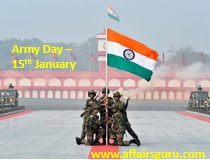 Army Day - 15th January